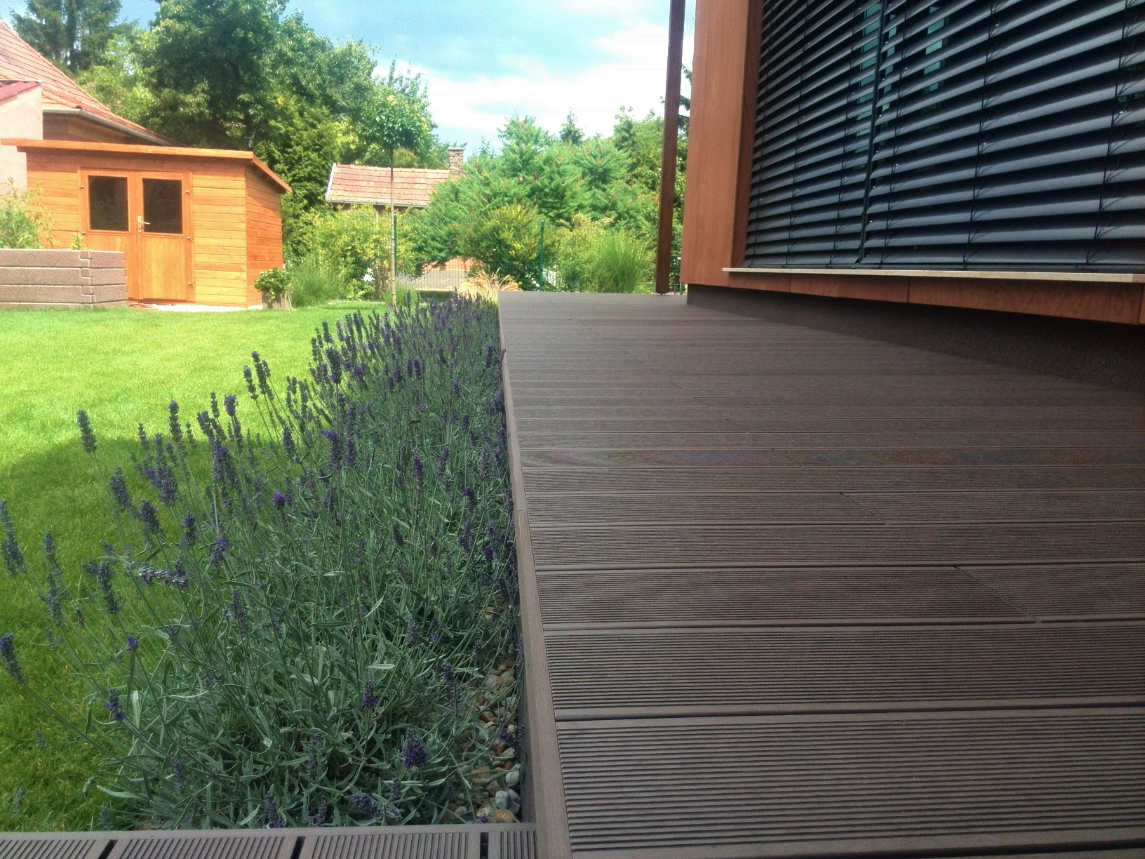 Otthonos teraszburkolat megoldás - TrendDeck WPC burkolat