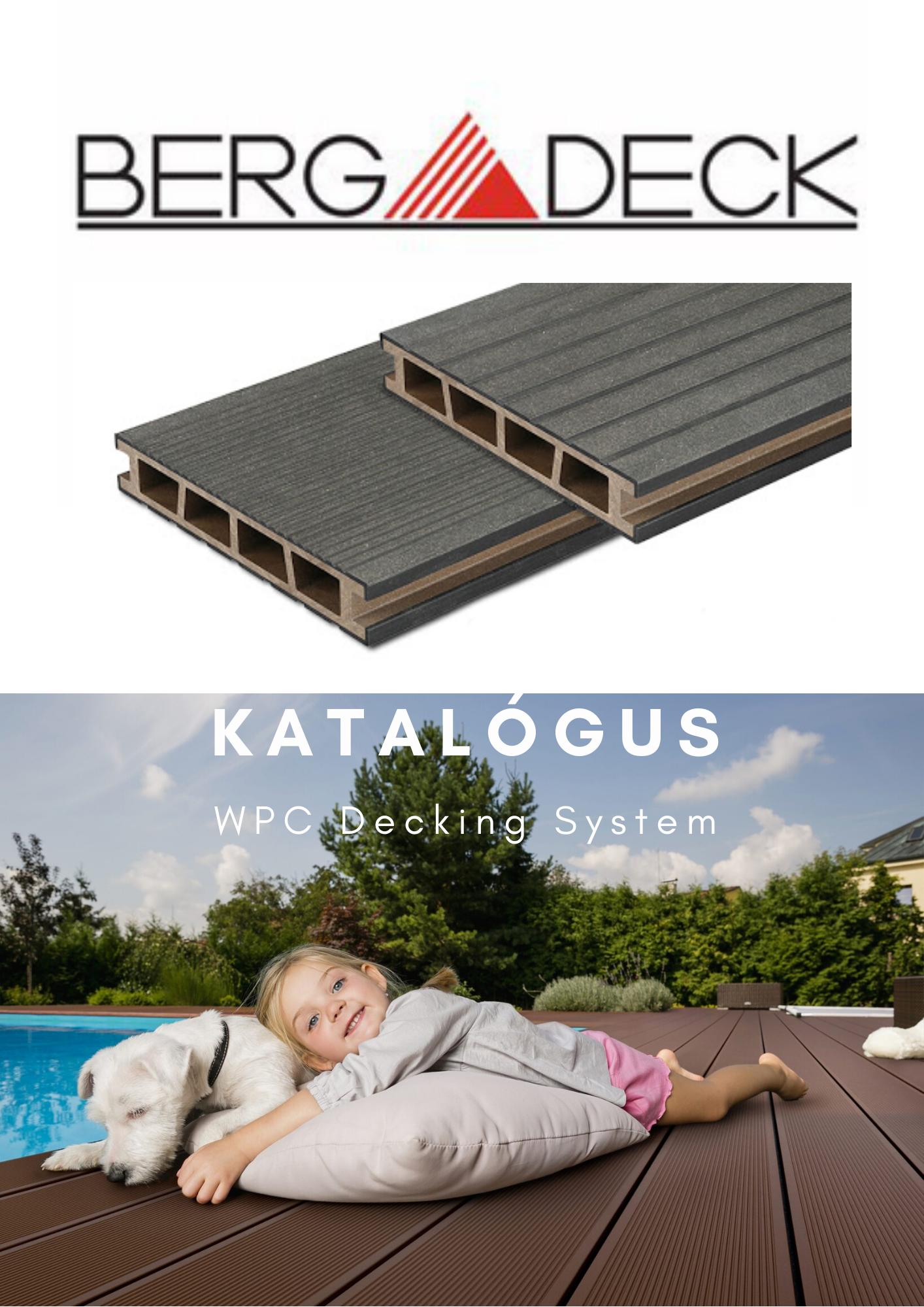 BergDeck WPC teraszburkolat - termék katalógus