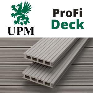 UPM ProfiDeck, WPC teraszburkolat logó