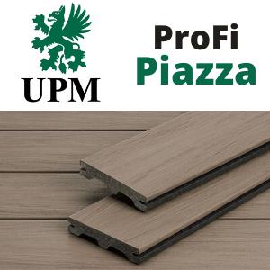 UPM Profi Piazza, WPC teraszburkolat logó