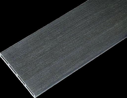 Gardin WPC kerítés elem - kefézett felületű - antracit szürke